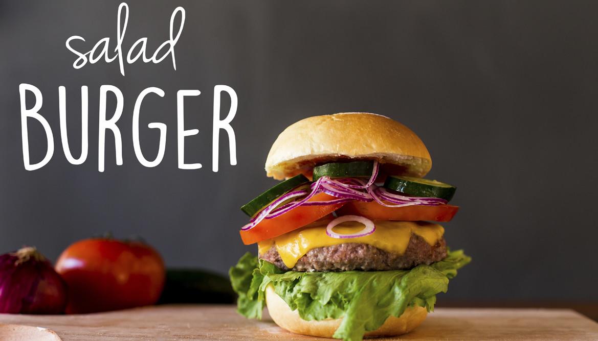 2. Salad Burger